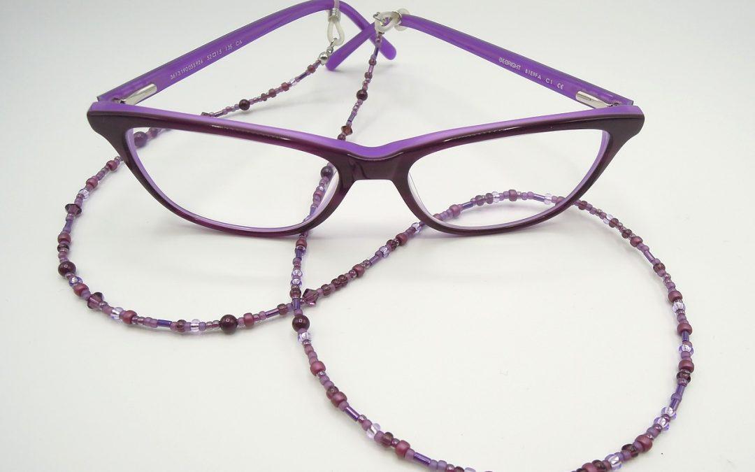 Mode : le retour de la chaîne à lunettes